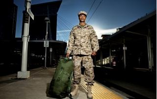 veteran coming home - istock