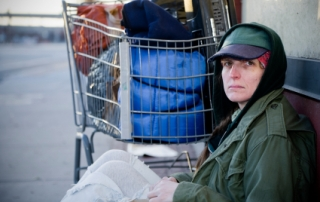 Homeless Woman Veteran