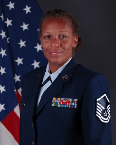 Official Portrait of Master Sgt. Carla Thornton
